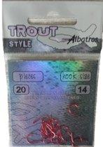 Albatros Trout Style - Forellenhaak - Haakmaat 14 - 20 stuks