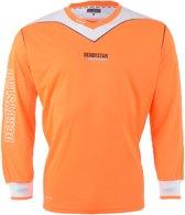 Derbystar Brillant Sportshirt - Maat 116  - Unisex - oranje/wit/zwart