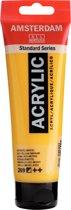 Amsterdam Standard acrylverf tube 120ml - 269 - Azo geel middel - halfdekkend