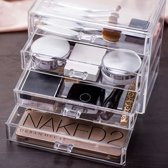 Make-up organizer - Make up opbergen - Transparant - DisQounts