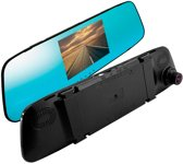 Blanco Onboard 3-in-1 Spiegel Car Camera (Dashcam) - Full HD 1920x1080 - incl. Touchscreen & Achteruitrijcamera