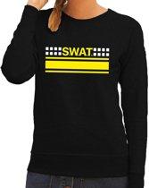 Politie SWAT team logo sweater zwart voor dames L