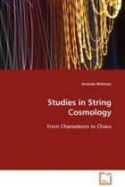 Studies in String Cosmology