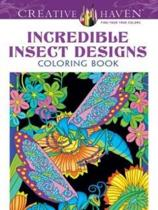 Creative Haven Incredible Insect Designs Coloring Book