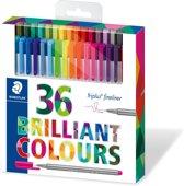 triplus fineliner - etui 36 kleuren (26 + 10 gratis)