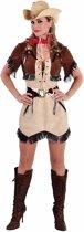 Cowgirl jurkje met bolero voor dames 40 (L)