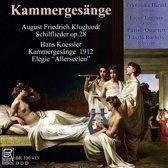 Kammergesange: August Friedrich Klughardt, Hans Koessler
