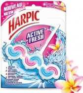 Harpic Active Fresh Toiletblok - Tropische Bloemen