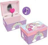 Unicorn You're Special - Muziek-/sieradendoosje - 15 x 8.5 x 11 cm - Multi