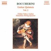 Boccherini: Guitar Quintets Vol 2 / Tokos, Danubius Quartet