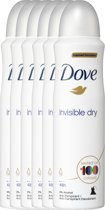 Dove Invisible Dry Women - 6 x 150 ml - Deodorant Spray - Voordeelverpakking