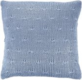 Dutch Decor kussenhoes Erica - 45x45 cm - Denim