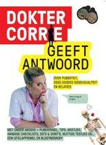Boek cover Dokter Corrie geeft antwoord van Niki Padidar
