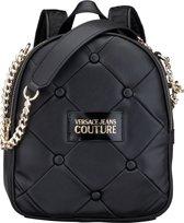 Versace Jeans Couture Dames Rugzak Gewatteerd / Knopen - Zwart