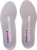 Spenco Ironman Performance Gel Tripple Density hielspoor inlegzolen - maat 38-40
