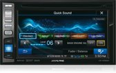 Alpine IVE-W585BT Bluetooth Zwart autoradio