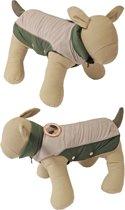 Boony hondenregenjas magic dragons lichtgrijs 24cm ruglengte