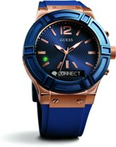 GUESS Connect smartwatch 45mm - Blauw