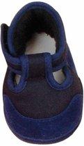 Käthe Kruse Poppenschoenentjes Blauw Voor Pop Van 48 Cm