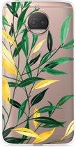 Motorola Moto G5S Plus Hoesje Watercolor Flowers