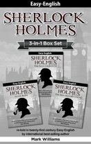 Sherlock Holmes re-told in twenty-first century Easy-English 3-in-1