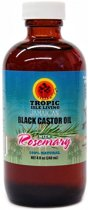 Tropic Isle Living Black Castor Oil with Rosemary 118 ml