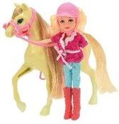 Toi-toys Tienerpop Met Paard 25 Cm