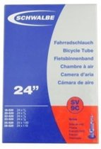 Schwalbe SV9C - Binnenband Fiets - Frans Ventiel - 40 mm - 24 x 1
