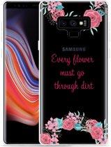 Galaxy Note 9 Hoesje Every Flower