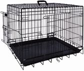 Nobby Opvouwbare Hondenbench- Zwart - 56 x 33 x 41 cm