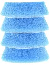 Rupes Blue Coarse Foam Pad - 54/70mm - 4-pack