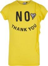 Retour Jeans Meisjes T-shirt - Bright yellow - Maat 122/128