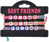 3 stuks vriendschaps armbandjes