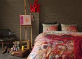 Beddinghouse Colour dekbedovertrek - Rood - 1-persoons (140x200/220 cm + 1 sloop)