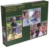 The Proud Father - Puzzel - 3x 500 stukjes
