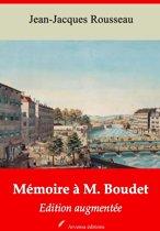 Mémoire à M. Boudet