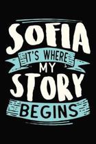 Sofia It's where my story begins