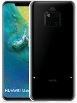 Huawei Mate 20 Pro Hoesje Royalty Cat - zwart