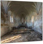 Chapel de la Meuse - Plexiglas 100x100 cm - Ivo Sneeuw - PixaPrint - GA00269-2