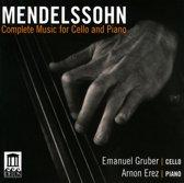 Mendelssohn: Complete Music for Cello & Piano