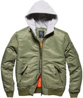 Vintage Industries Westend jacket olive