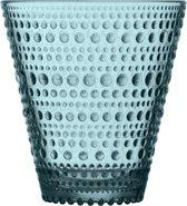 Iittala Kastehelmi Glas - 30cl - Zeeblauw - 2 stuks
