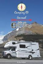 Camping RV Journal Let's Go Camping