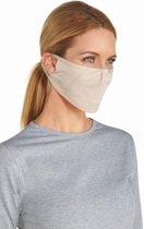 Coolibar UV gezichtsmasker Unisex - Beige - Maat S