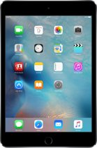 Apple iPad Mini 4 - WiFi - Zwart/Grijs - 64GB - Tablet
