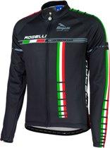 Rogelli Team16 Fietsshirt - Maat S  - Mannen - zwart/wit/groen/rood