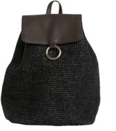 PIECES Ilana Backpack Beach zwart