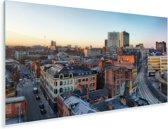 Centrum van Manchester in Engeland Plexiglas 180x120 cm - Foto print op Glas (Plexiglas wanddecoratie) XXL / Groot formaat!