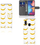 Samsung Galaxy A20e Book Cover Banana