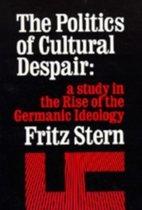 The Politics of Cultural Despair